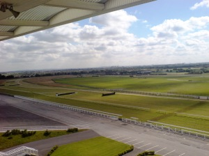View from Princess Royal stand, Aintree